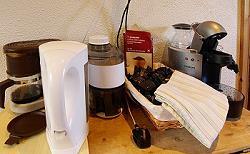 Les diverses options pour la préparation du café et du thé